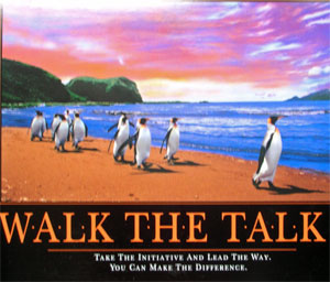walk the talk Talent Management: Guess What? It's All About the Talent