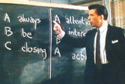 alec baldwin glengarry glen ross Do you know what drives your business?